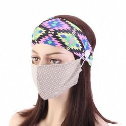 Fejpánt gombokkal a szájmaszkhoz védi fület  Csúszásmentes hajszalag maszk tartó