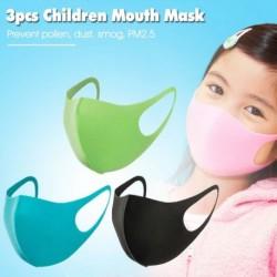 3db / tétel mosható gyermek szájmaszk szivacsmaszk száj 3D porálló