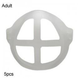 Felnőtt - Arcvédő fojtásgátló tartó orrvédő állvány belső tartókeret 5db