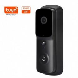 1080P intelligens WiFi video csengő kamera vizuális kaputelefon Chime Night vision IP ajtócsengővel vezeték nélküli