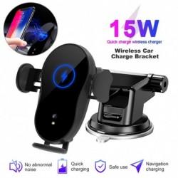 15W Qi autós vezeték nélküli töltő iPhone 11 pro XS max 8 Plus X XR 15W gyors vezeték nélküli