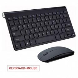 2.4G vezeték nélküli billentyűzet vezeték nélküli egér kombinált készlet notebook laptop Mac asztali számítógéphez