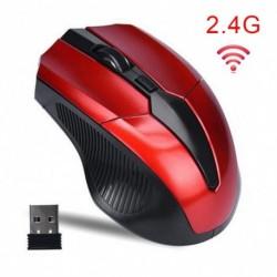 2,4 GHzes vezeték nélküli egérjátékos Új játék Vezeték nélküli optikai egerek USB vevővel Mause PC laptophoz