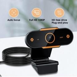 2K webkamera Full HD 1080P webkamera számítógép USB webkamerához mikrofonnal Autofókuszos webkamerák