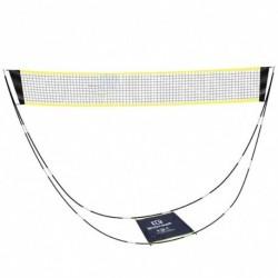 3 méteres hordozható tollaslabda háló állványtáskával, összecsukható teniszröplabda háló beltéri szabadtéri