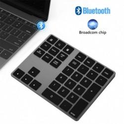 34 billentyű Bluetooth vezeték nélküli numerikus billentyűzet Mini Numpad több funkciógombbal Digitális billentyűzet PC