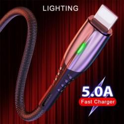 5A Világítás USBkábel LED iOS mobiltelefon Gyors töltés adatkábeltöltés iphone X Xs Xr 11 11Pro 11Pro Max