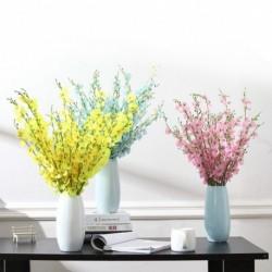 5 ágú szimuláció virág mesterséges virágok esküvői pillangó orchidea dekoráció