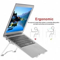 Állítható laptopállvány notebook tartó Összecsukható hűtőtartó csúszásmentes állvány Home Office