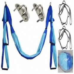 Légi jóga lengő függőágy készlet táncfelosztásokhoz antigravitációs edzés erősítő edzés inverziós felszerelés
