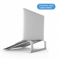 Alumínium ötvözetű laptop állvány MacBook Air Pro számítógép hűtőkonzol támasztékalap hordozható notebook