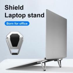 Alumínium ötvözetű laptop állvány, védhető, mini összecsukható notebook tartó hűtőállvány az összes laptop