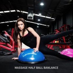 Egyensúlyi edző labda a testmozgáshoz Fél labda felfújó szivattyúval jóga edzőeszközök otthoni tornaterem pilates