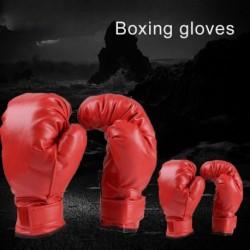 Ökölvívó kesztyű gyerek 212 felnőtt vörös harci bokszkesztyű illik boxzsák Kickbox Muay Thai MMA
