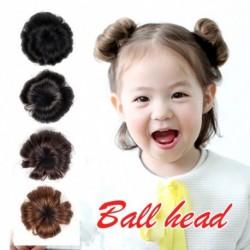 gyerek kölyök lány hajtű paróka húsgombóc fej rügy hamis haj szép imádnivaló aranyos magas hőmérsékletű selyem