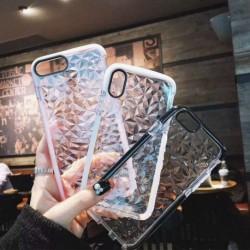 Színes gyémánt átlátszó telefontok Samsung A10 / M10 A30S / A50 / A50S A70 tok puha telefontok