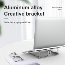 Kreatív szemüveg állítható összecsukható laptop állvány csúszásmentes asztali notebook tartó laptop állvány