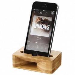 Creative Wood mobiltelefontartó erősítő állvány asztali élő közvetítés Lusta mobiltelefon állvány erősítő alap