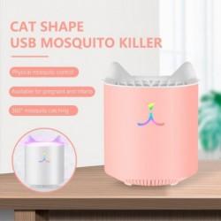 Aranyos macska elektromos szúnyoggyilkos lámpa LED fizikai csendes szúnyogriasztó beltéri és kültéri háztartási gépek