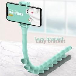 Aranyos Caterpillar Lazy konzol mobiltelefon tartó féreg rugalmas telefon tapadókorong állvány otthoni fali asztali