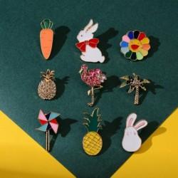 Divat aranyos csillogó strasszos bross kreatív rajzfilm olaj csöpögő bross ruha táska dekorációs kiegészítők