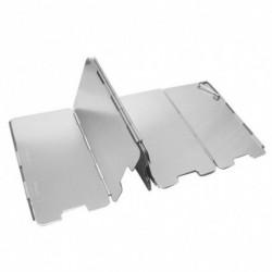 Összecsukható kültéri gáztűzhelyes szélvédő 9 lemez alumínium kempingkályha szélvédő hordtáskával ultrakönnyű