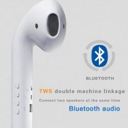 Óriás fülhallgató hangszóró vezeték nélküli Bluetooth hangszóró hordozható kültéri 3D sztereó zenei hangszóró