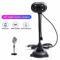 HD számítógép webkamera mikrofonnal USB webkamerákkal 480p dinamikus felbontás a számítógép PC asztali laptophoz