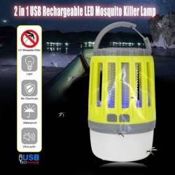 IPX4 vízálló USB töltő szúnyoggyilkos lámpa LED éjszakai fény lámpa poloska rovar fények gyilkos kártevő repeller