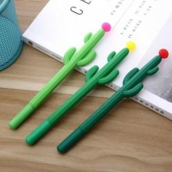 Koreai levélpapír aranyos Kawaii Cactus Gel Pen Irodaszerek ajándékai Irodai iskolai kellékek Scapbook Singnature Pen