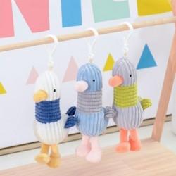 Metoo mini aranyos csíkos kacsa játék gyerek játék babák gyerek lány születésnapi karácsonyi ajándék rajzfilm