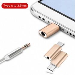 Mini TypeC  3,5 mm jack átalakító fülhallgató audiokábel hordozható fülhallgató adapter a Huawei P20 Lite Mate 20