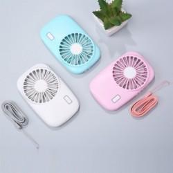 Hordozható mini ventilátoros kézi USBvel tölthető asztali ventilátorok nyári hűtő a kültéri utazási irodához