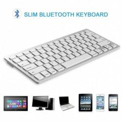 Hordozható, rendkívül vékony vezeték nélküli billentyűzet Bluetooth 3.0 billentyűzet számmal PChez Machez IOSrendszer