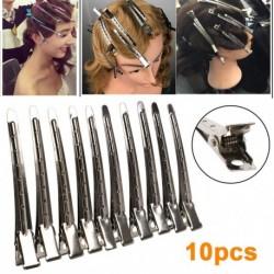Professzionális szalon rozsdamentes hajcsipeszek Hajformázó eszközök DIY fodrász hajtűk Barrettes fejfedő kiegészítők