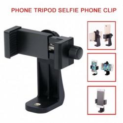 Univerzális állványra szerelhető adapter mobiltelefon clipper tartó 360 ° os függőleges állvány állvánnyal