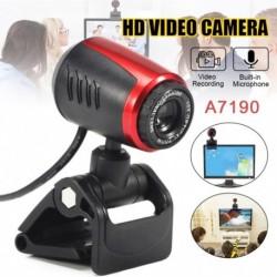 USB 2.0 LED HDSmart MIC webkamera kamera webkamera mikrofonos mikrofonnal a PC laptopjához
