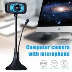 USB mini kamera Beépített mikrofon videohívás Számítógép perifériás webkamera PC laptop notebook kamerához