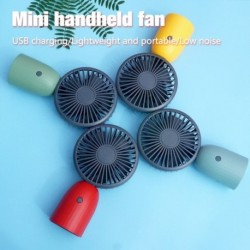 USB újratölthető mini kézi ventilátor diákok iskolai kültéri ventilátor
