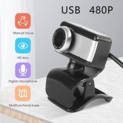 USB webkamera Forgassa a kamera HD webkameráját mikrofonklippel a PC laptop notebook számítógépéhez
