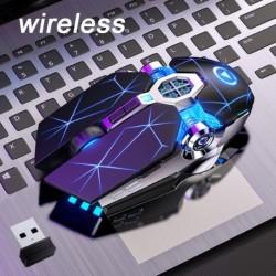 Vezeték nélküli játékegér 7 gombos LED optikai USB számítógép egér gamer egerek néma egér PC laptophoz