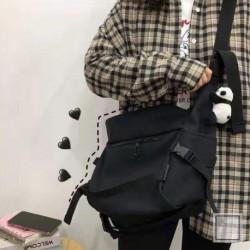 Női rajzfilm aranyos mini messenger táska lány zsebvászon szerszámtáska postás táska
