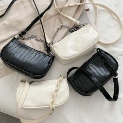 Női alkalmi bagett táska PU bőr divatos Subaxillary válltáska kézitáska
