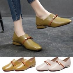 Női divat hegyes magas sarkú papucs egyszerű szexi sokoldalú brit bőr bőr szandál cipő
