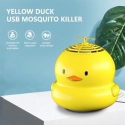 Sárga kacsa fotokatalizátor USB szúnyoggyilkos inhalálható néma otthoni poloskazáró csapda