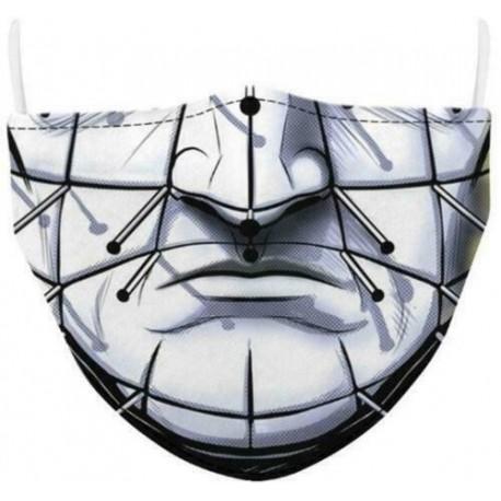Tervezés-59 - Férfi újrafelhasználható unisex vicces mosható arcmaszk fél arc száj Mark HipHop rajzfilm