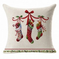 * 12 - 18 hüvelykes karácsonyi párnahuzat térpárna autó kanapé otthoni party dekoráció 2020