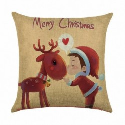 * 3 - 18 hüvelykes karácsonyi párnahuzat térpárna autó kanapé otthoni party dekoráció 2020