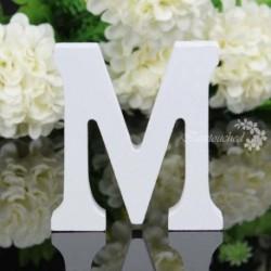 M - 26 fa fa betű ábécé szó szabadon álló esküvői party otthoni dekoráció