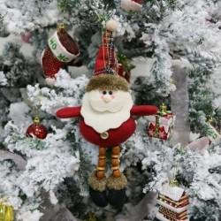 Mikulás * 2 - Karácsonyi ajándék Mikulás hóember dísz fesztivál party Xmas Tree Decor Doll